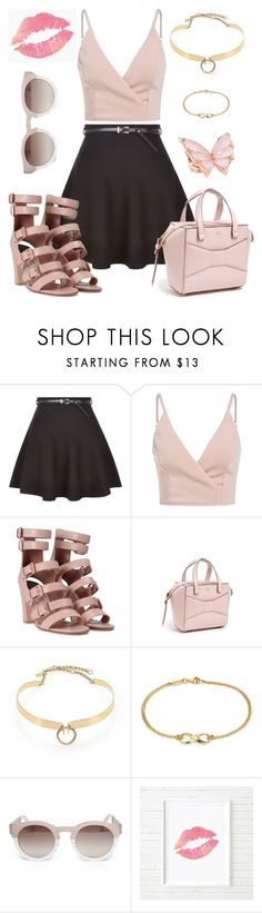 """Just Play."" by gatocat ❤ liked on Polyvore featuring New Look, Laurence Dacade, Kate Spade, Alexis Bittar, Blue Nile, Rebecca Taylor and Stephen Webster"