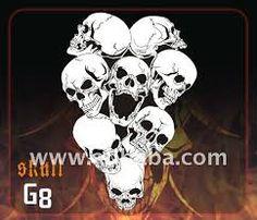 Bildergebnis für skull stencils