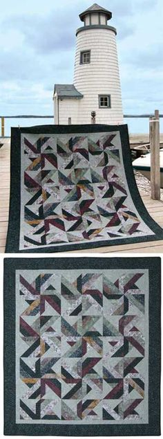 Tradewinds Quilt.  Love this one!