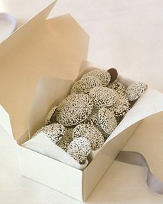homemade nonpareils candies - nice idea for DIY gifts