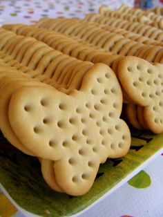 butterfly crackers... with cheese and salami/summer sausage?