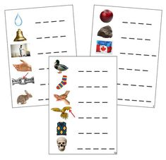 Step 2: Spelling Cards (photos) Phonetic Sounds, Blue Words, Montessori Classroom, Spelling, Language, Lettering, Photos, Cards, Pictures