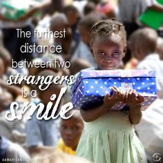 Make someone smile today!