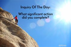 What significant action did you complete? http://www.iotd365.com/blog/2016/12/10/what-significant-action-did-you-complete