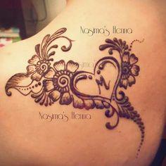 Great alternate for a shoulder tattoo Mehndi Designs Front Hand, Henna Tattoo Designs Arm, Floral Henna Designs, Finger Henna Designs, Simple Henna Tattoo, Henna Tattoo Hand, Modern Mehndi Designs, Mehndi Designs For Beginners, Henna Designs Easy