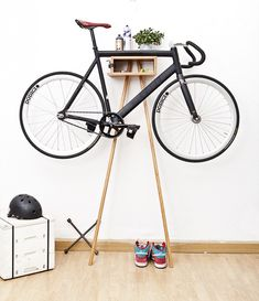 8 Creative Ways to Store Your Bike | Eleanor's | Stylish Bicycle Accessories for Ladies