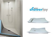 Marmox Showerlay_ Floor Level Shower Base. 100% Waterproof & 100% secure.