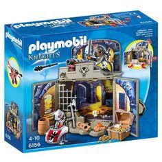 """Playmobil - 6156 - Coffre """"Pièce du trésor des chevaliers"""""""