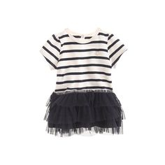 Baby Petit Bateau tutu dress