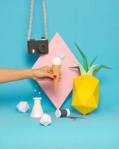 Trendy Photography Still Life Products Pastel Design Food, Set Design, Design Art, Origami, Paper Art, Paper Crafts, Prop Styling, Still Life Photography, Pastel Photography