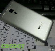 cool tech El cuerpo de metal del Meizu MX5 aparece en una foto en vivo