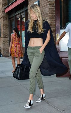 Gigi Hadid seen heading to the Taylor Swift concert in New York City, New York on July 11, 2015.
