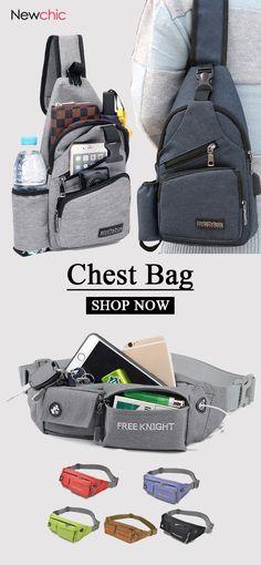 Shop Newchic.com to buy chest bags now!  bags  mensfashion 751dc0f5c500b