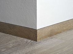 skirting board alternatives - Zoccolino a filo