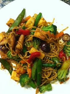 Forks Over Knives - Stir-Fry.  Made this tonight and both Rob and I liked it.  Very simple.