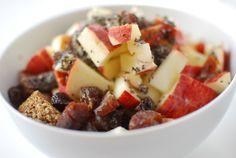 Ontbijt met Weetabix (original) en fruit