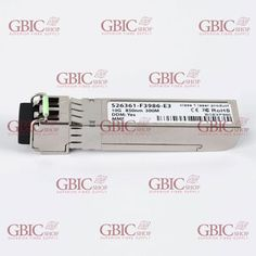 Gbic-shop.de offers you brand new SFP+ transceiver, which will be tested before they are shipped to you. The brand being offered to you is the BlueOpticss, which is one of the best brands known for compatible SFP+ transceivers.