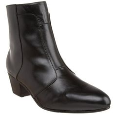 Giorgio Brutini 805751 Mens Black Leather Cuban Heel Boot   eBay