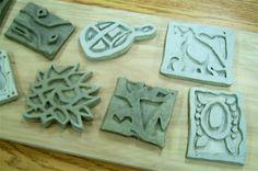 Art Lesson Plans - clay trivets