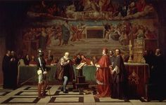 Galileo before the Holy Office - Joseph Nicolas Robert-Fleury (8 Aug 1797-1890) – Wikipedia