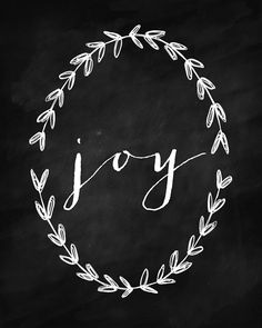 Christmas chalkboard - JOY sign and decor ideas – Christmas chalkboard 11th Day Of Christmas, Noel Christmas, Christmas Signs, Winter Christmas, All Things Christmas, Christmas Crafts, Christmas Decorations, Xmas, Simple Christmas
