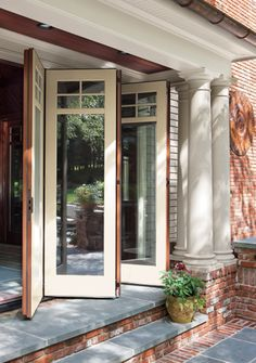Operable Wall In Traditional Style; Leanza Bi Fold By Marvin Windows U0026 Doors .