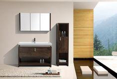 The Levi Vanity 48 Vanity, Modern Vanity, Single Bathroom Vanity, Bathroom Vanities, Bathroom Essentials, High Quality Furniture, Design, Home Decor