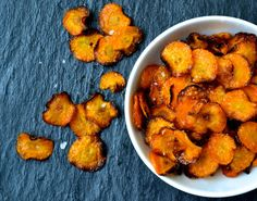 Crispy Spiced Carrot Chips- would drying out carrots take out a lot of the health benefits though?