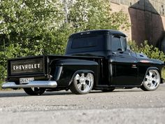Chevy 1955 Pick-up ~ coming soon to a neighborhood near you...