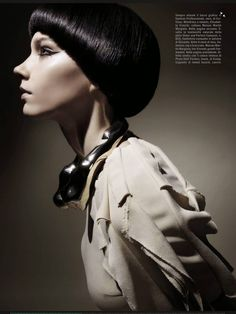 Vogue Italia August 2014 Megan Thompson, Lisa Verberght & Pamela Bernier Photographed by Emma Summerton Styled by Elin Svahn