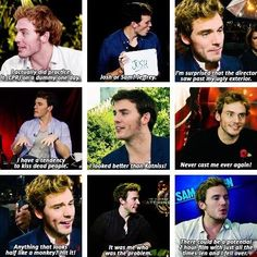 Sam Claflin is the best!