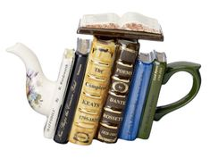 The Tea Lover | Community Post: 17 Novel Etsy Gifts For Every Kind Of Book Lover