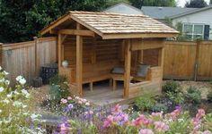 Custom Garden Patio Shelter Design Backyard Builds Pinterest