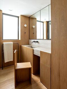 Neutral Bathroom, Modern Bathroom, Colorful Bathroom, Bathroom Trends, Bathroom Ideas, Bathroom Inspiration, Home Decor Inspiration, Decor Ideas, Bedroom Minimalist