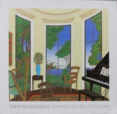 Thomas McKnight TANGLEWOOD Print (10/18/2009) This is one of the earlier pieces that I liked.