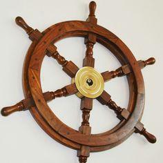 http://bit.ly/KoloSterowe - Drewniane koło sterowe z mosiężną piastą - prestiżowy morski symbol przywództwa, stylowy żeglarski prezent, alegoria trzymania steru władzy, dowodzenia, marynistyczny synonim kapitańskiej wiedzy i odpowiedzialności, właściwych decyzji i obierania dobrych kursów, dobrego dowództwa i bezpiecznego powrotu do portu, ponadczasowy prezent dla Żeglarza i osób zakochanych w morzu, żaglach, żaglowcach, nobilitujący element morskiego wystroju wnętrz,  morski styl  http://Sklep.marynistyka.org  http://Marynistyka.eu   #KoloSterowe, #drewnianekolosterowe, #kołosterowe, #marynistyka, #zeglarskieprezenty, #morskieupominki, #zeglarskistyl, #dekoracjemarynistyczne, #PrezentDlaZeglarza