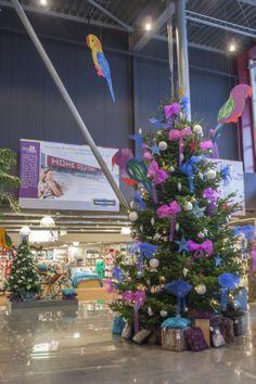 Tropische kerst bij Home Center.