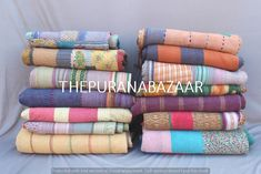 15% Off FREE SHIPPING Kantha Wholesale Lot Vintage Indian Kantha QUILT Bohemian Kantha Quilt Indigo Vintage Quilts Kantha Throw Blanket Ancient Indian Art, Little Stitch, Kantha Quilt, Vintage Quilts, Different Patterns, Bed Covers, Quilt Making, Hand Embroidery, Bedspread