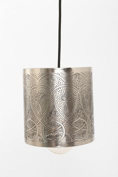 Etched Lamp Shade #urbanoutfitters