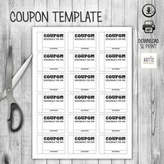 Santa Coupon - Free Coupon / Ticket Template by Hloom.com ...