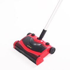 113.40$  Watch here - http://ali1q4.worldwells.pw/go.php?t=32762074526 - 2016 Christmas Gifts Cordless Vacuum Cleaner Rechargeable Straight Handle Red Color Beauty Sweeping Machine Electric Sweeper  113.40$