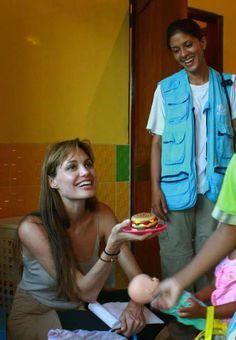 Angelina Jolie visits Ecuador