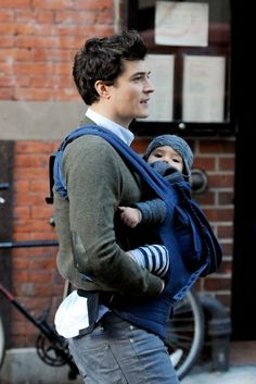 Well this is sweet.  Orlando bloom and his adorable son