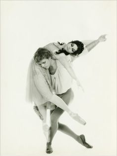 """The Royal Ballet's Lynn Seymour and Christopher Gable in """"Romeo and Juliet"""""""