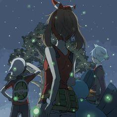 Pokemon Oras: May and Swampert, Brendan and Steven Stone Champion of Hoenn Christmas Day.
