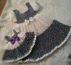 Crochet Chain Dress. Linda Smith