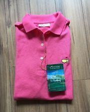 Masters Collection Golf Shirt Pink Small | eBay