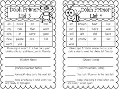 Sight Word Assessment Pack