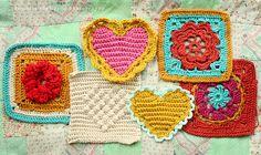 Nice! Heart pattern from Bella Dia, here http://belladia.typepad.com/bella_dia/2008/02/sweet-heart-cro.html