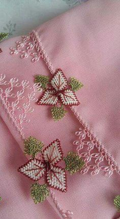 This Pin was discovered by rum Embroidery Stitches, Embroidery Designs, Turkish Design, Needle Lace, Elsa, Needlework, Diy And Crafts, Projects To Try, Lily